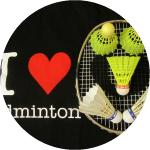 I love Badminton